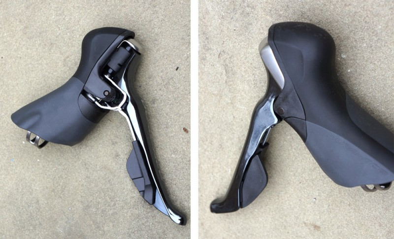 Манетки тормозные ручки Shimano Dura-Ace 9000 11-Speed Group