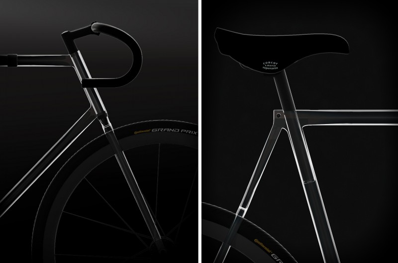 Прозрачный велосипед Clarity