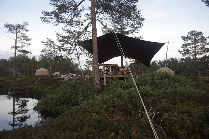 Норвегия. Отель-юрта или Canvas Hotel. Специально для правильных велосипедистов