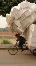 перевезти на велосипеде что можно