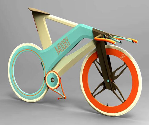 велосипед от дизайнеров Mobi bike