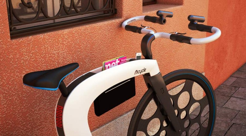 Складной електровелосипед NCycle