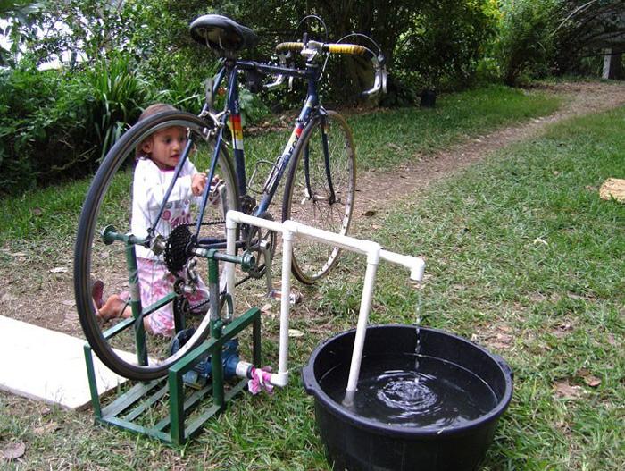 велосипед насос