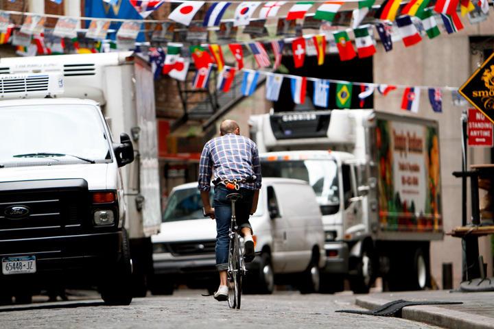 Велосипедисты Нью Йорка