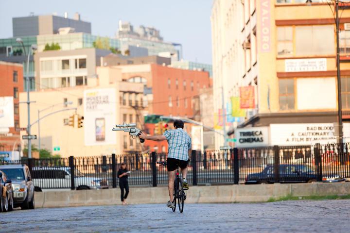 Велосипедисты Нового Йорка