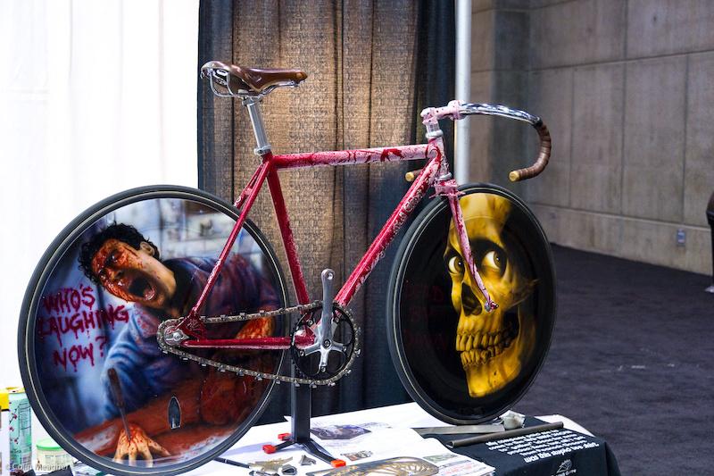 Велосипед в стиле Зловещих Мертвецов от Peacock Groove из Миннесоты