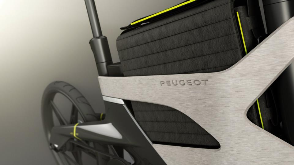 велосипед с электроприводом peugeot