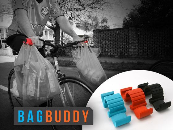 The Bag Buddy Крючки на руль велосипеда