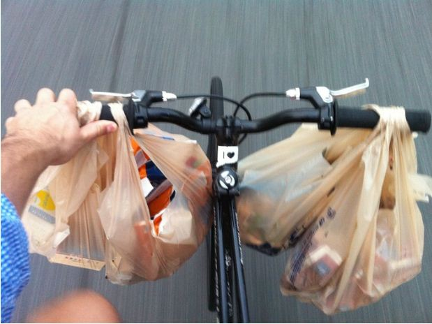 Крючки на руль велосипеда
