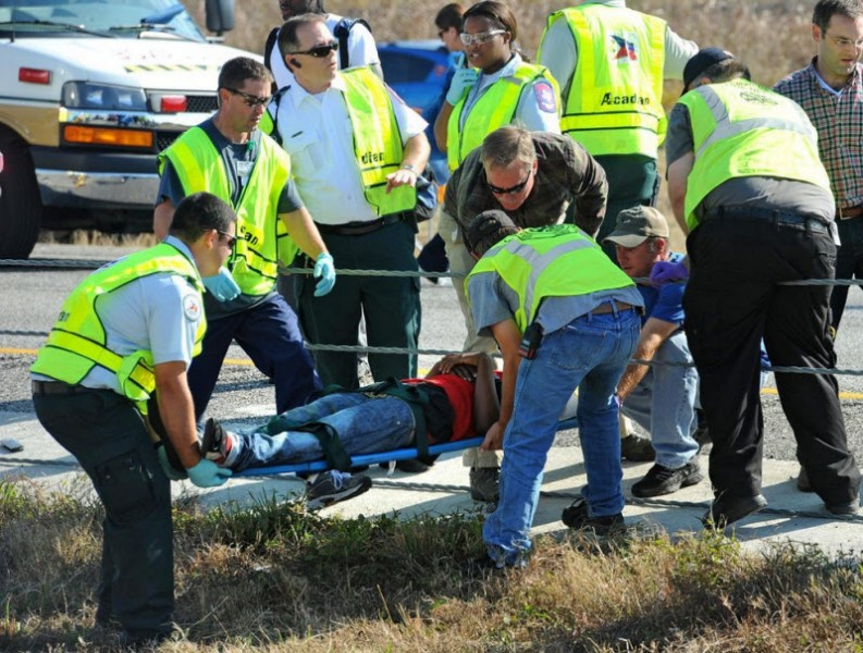 автомобильная авария в США