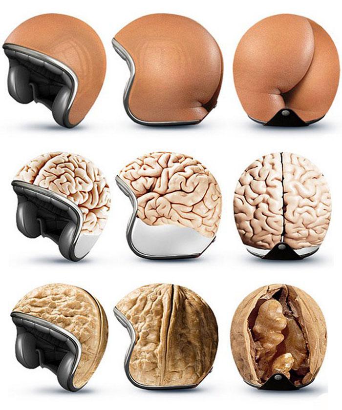 Минусы велосипедного шлема