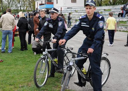 Велосипедная милиция