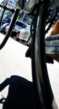 Под колесами велосипеда