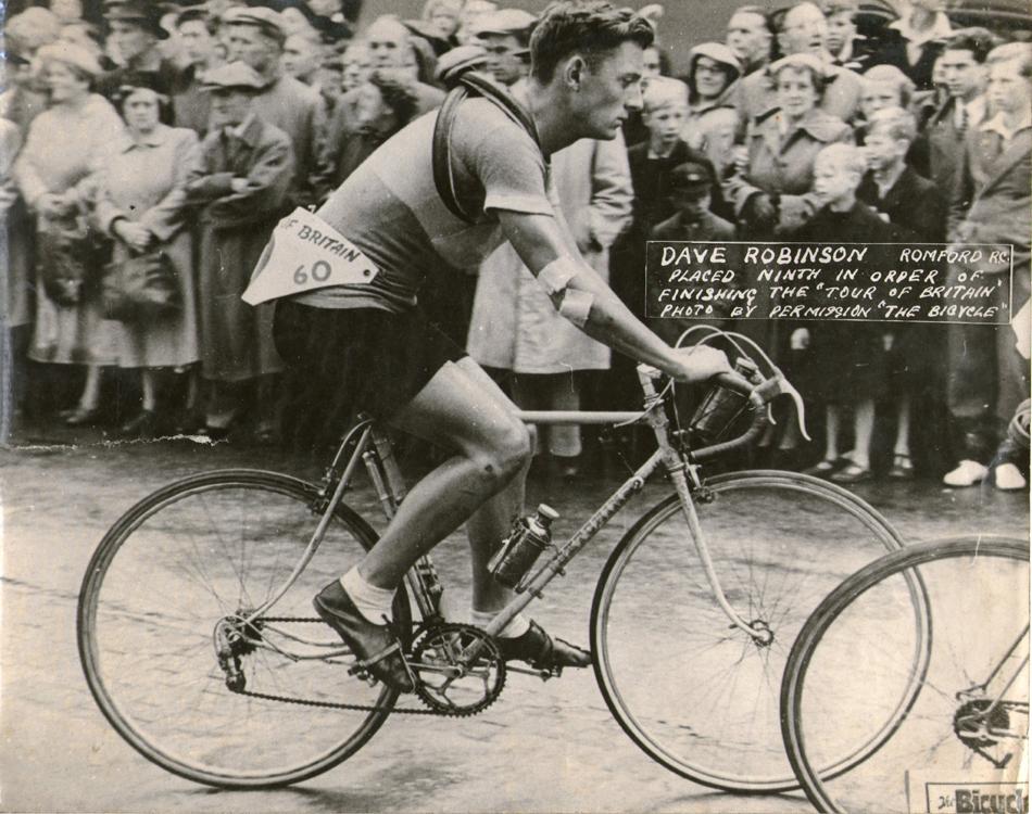 на велосипеде Hetchins Experto Crede Model 6 – dave robinson