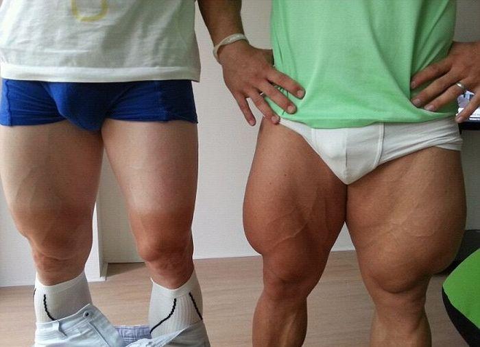 ноги велосипедистов