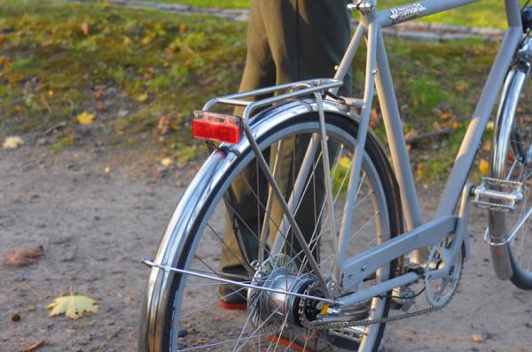 Светоотражающий велосипед