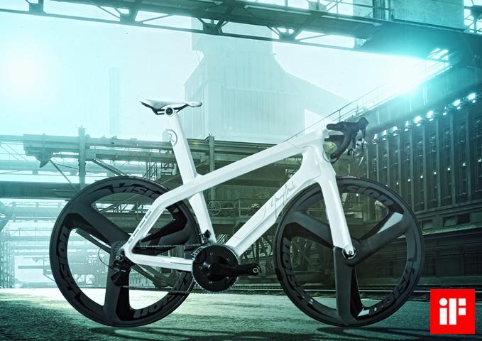 Концептуальный велосипед Unique Dream Machine – Taipei Cycle D&I Award