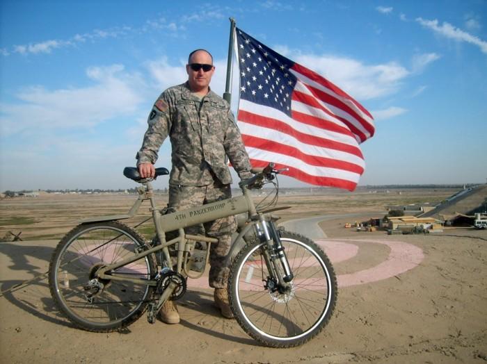 Десантный велосипед Paratrooper