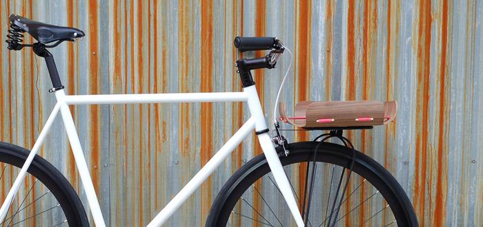 Правильная корзинка для велосипеда корзинкера