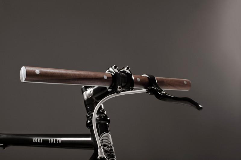 Деревянный руль для велосипеда