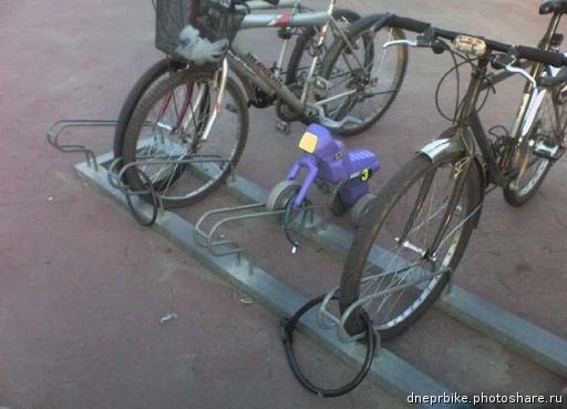 Велосипедный юмор