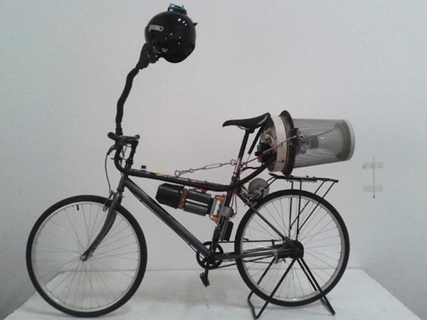 Велосипед-фильтр для воздуха