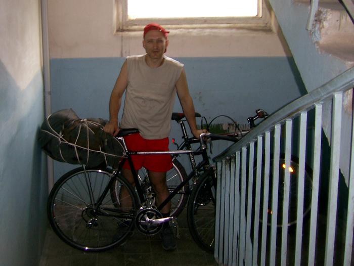 на велосипеде в поход