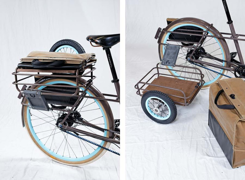 Грузовой велосипед Ziba design with signal cycles