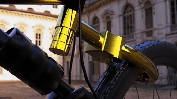 Велозамок. The Senza Bike Lock System