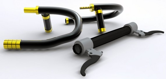 Велосипед. Велозамок. The Senza Bike Lock System