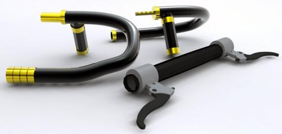 Велосипед. Велозамок. The Senza Bike Lock System