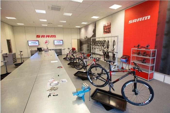 Зал заседаний SRAM в Европе