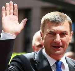 Премьер Эстонии – Андрус Ансип – наш человек – велосипедист