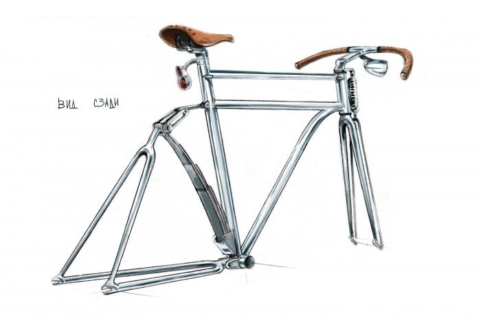 Твидовый велосипед Ильи Панова