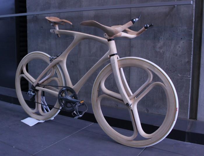 Деревянный велосипед Yojiro Oshima