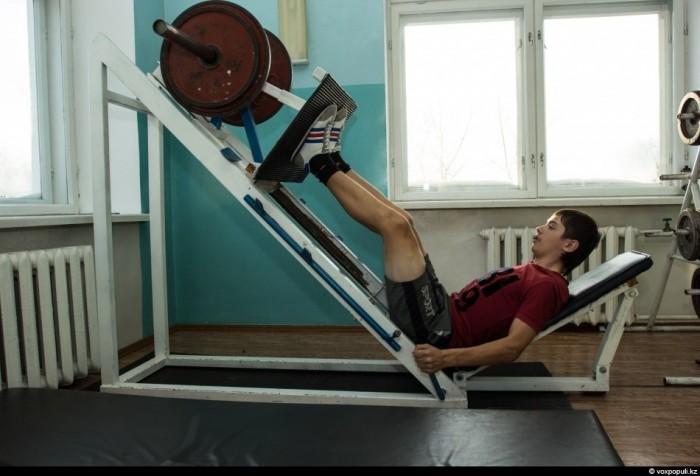 Казахстан. Подготовка велосипедистов спортсменов