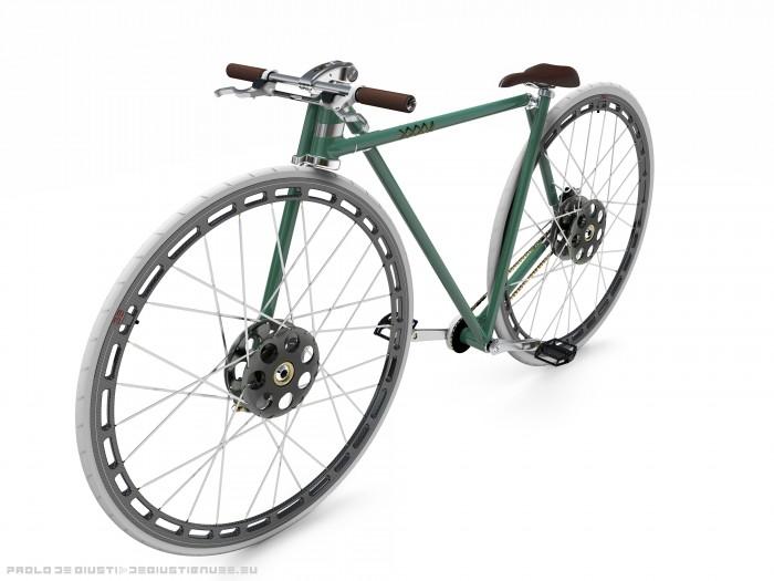 """Велосипед с 36"""" колесами"""