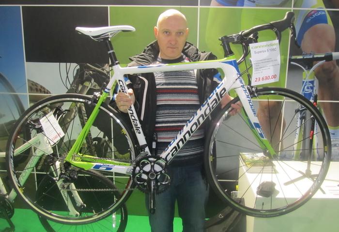 велосипед Canondail