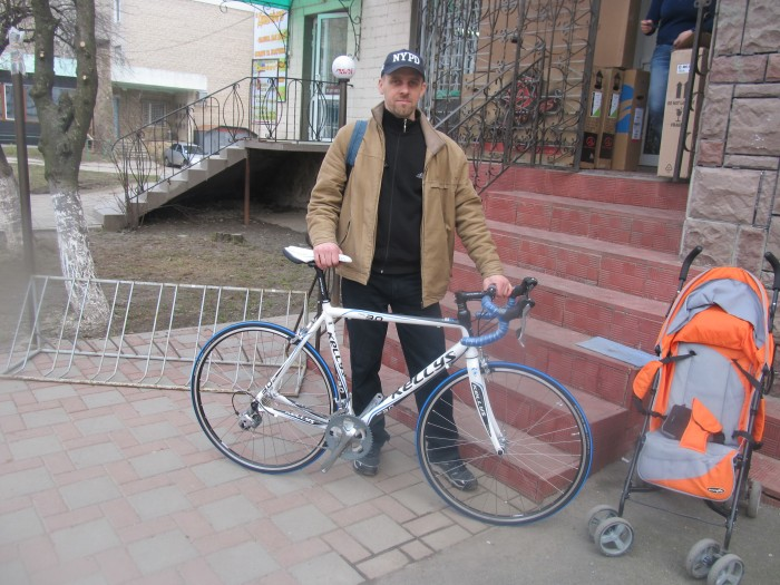 велосипедист Серж