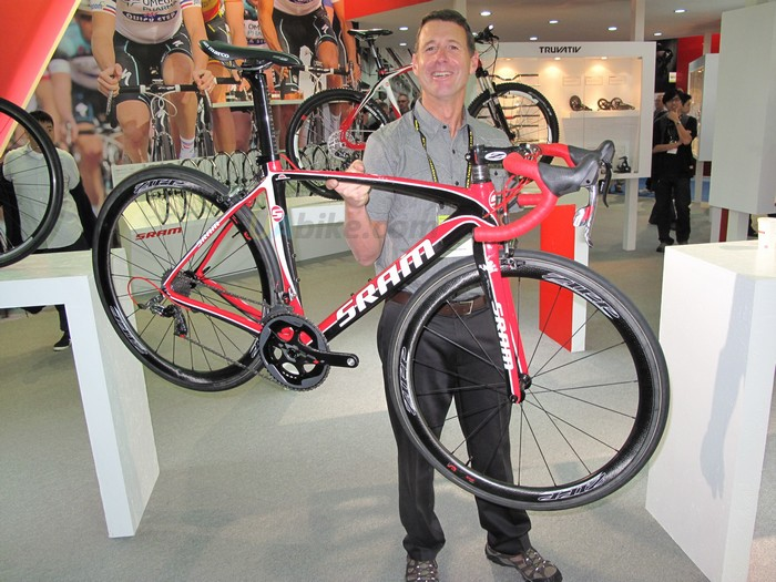 Революционный велосипед от компании  SRAM