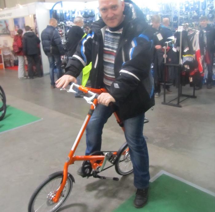 "велосипед Strida 5.2"""
