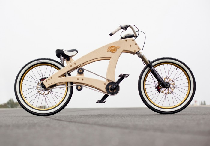 Велосипед из коробки