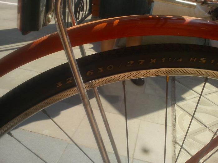 Мой велосипед Condor резина