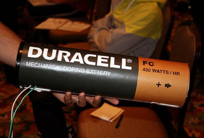велосипедный аккумулятор duracell