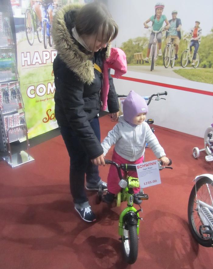 велосипедная мама