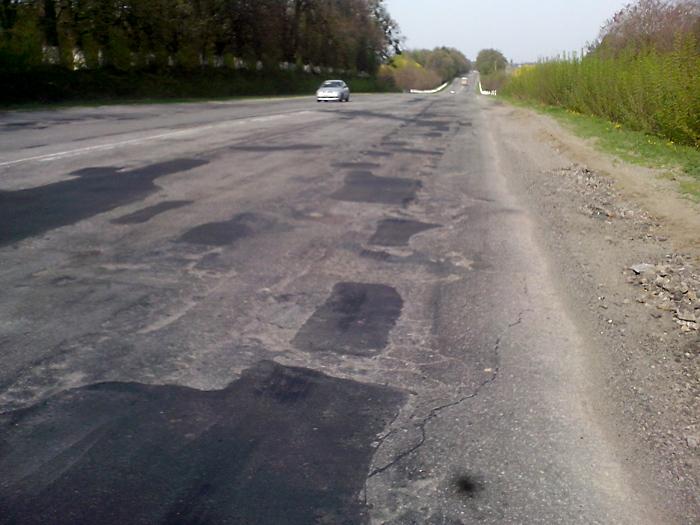 наши винницкие дороги после их покращення