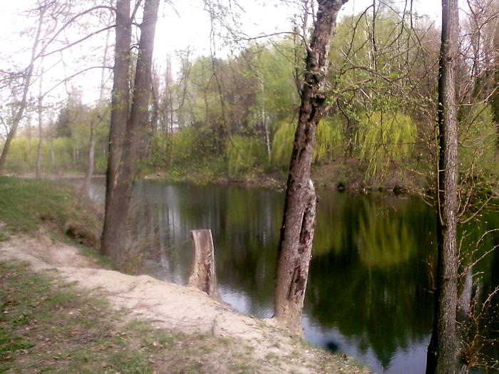 Парк в Литине