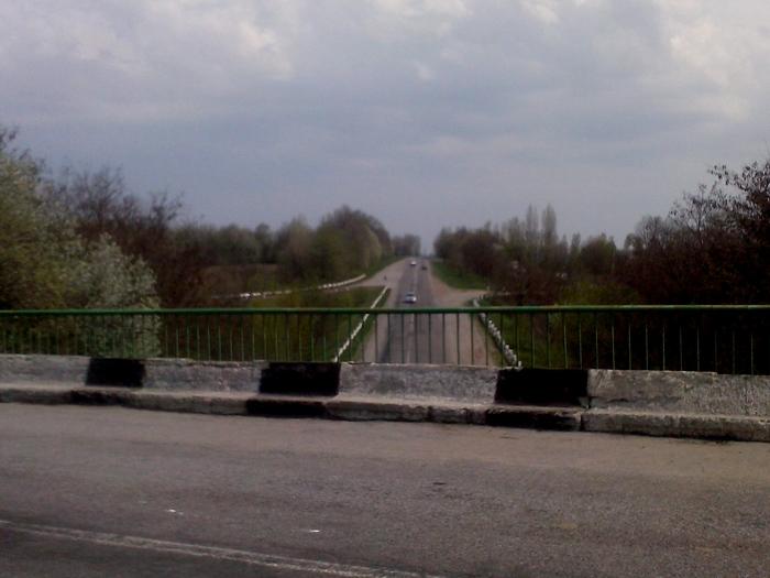мост, холмы, спуски и подъемы