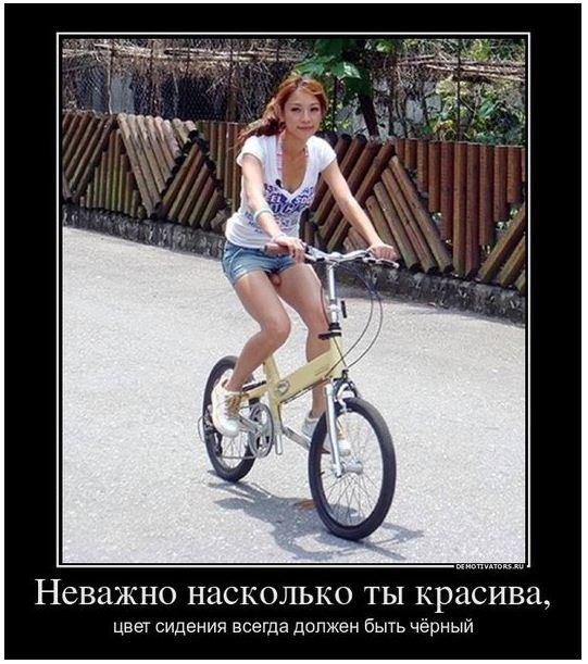 белое седло велосипеда