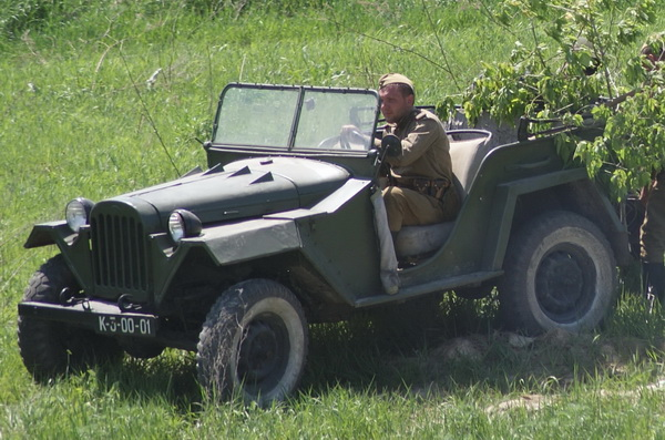 автомобиль ГАЗ 67 б